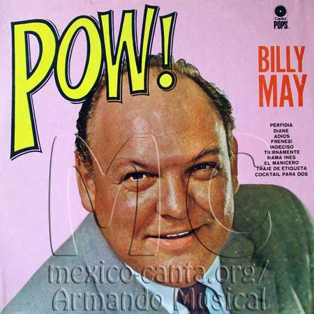 Portada - Billy May Orchestra